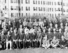 National Research Council Committee on Industrial Lighting (Dr. Crampton center), circa 1925.