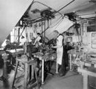 Lenox machine shop, circa 1920's.